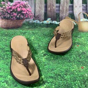 Crocs Size 11 Women's Sandals Kade Flip-Flops